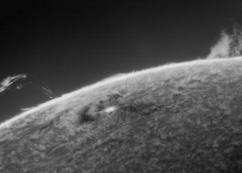 13-06-2021 (inverted) sunspot